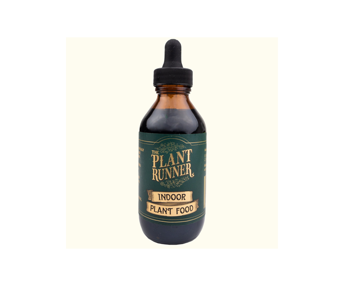 """Indoor Plant Food, $12, [The Plant Runner](https://theplantrunner.com/collections/plant-food-and-wellbeing/products/indoor-plant-food