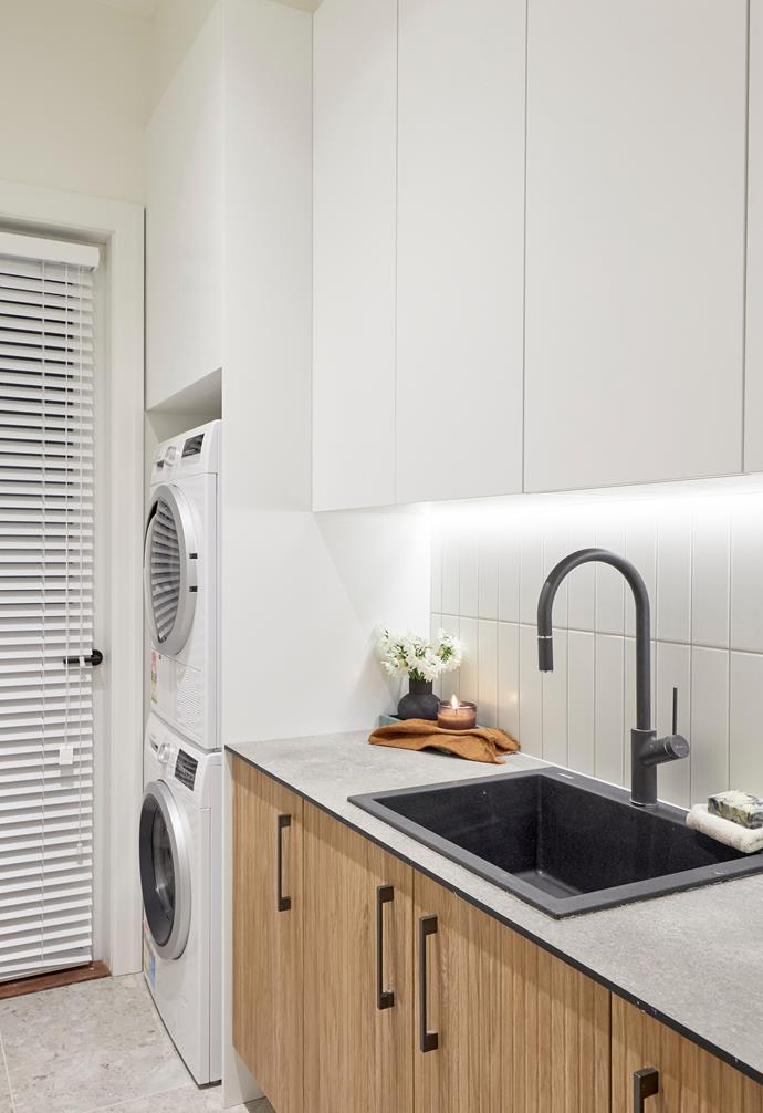 """[**Week 9, Hallway and Laundry Week**](https://www.homestolove.com.au/the-block-2020-hallways-and-laundry-21938