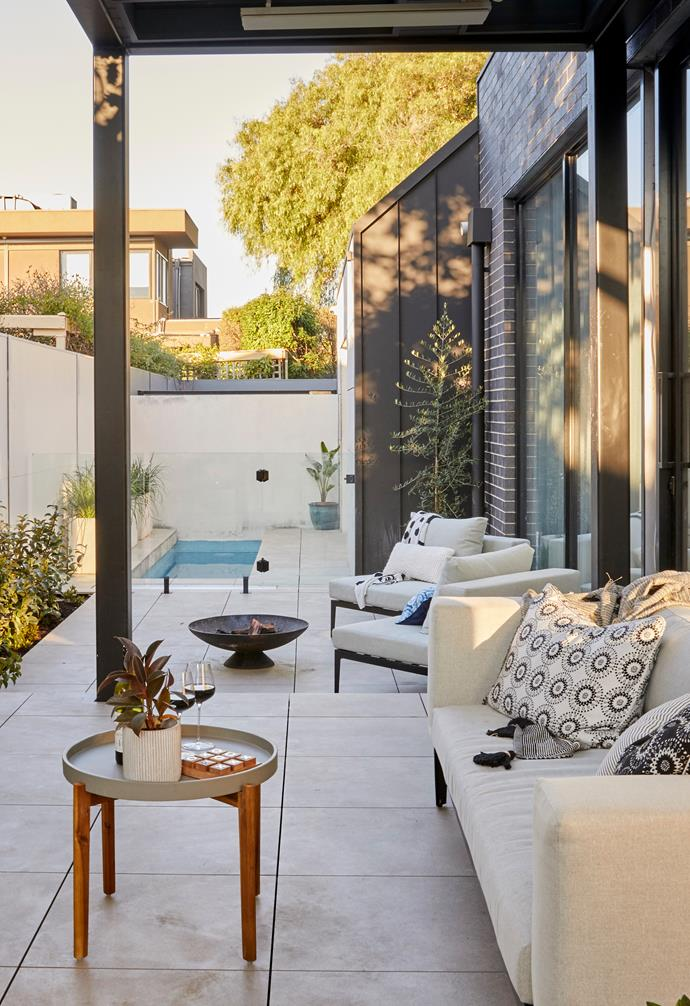**[Week 12, Backyard and Pool Week](https://www.homestolove.com.au/the-block-2020-backyard-pool-reveals-22011)** Working with the smallest budget, Harry and Tash approached Backyard and Pool week with the aim of just getting it done. As such, their styling was on the sparser side, and the judges disagreed with their choice to add a dividing wall between the frontyard and backyard spaces.