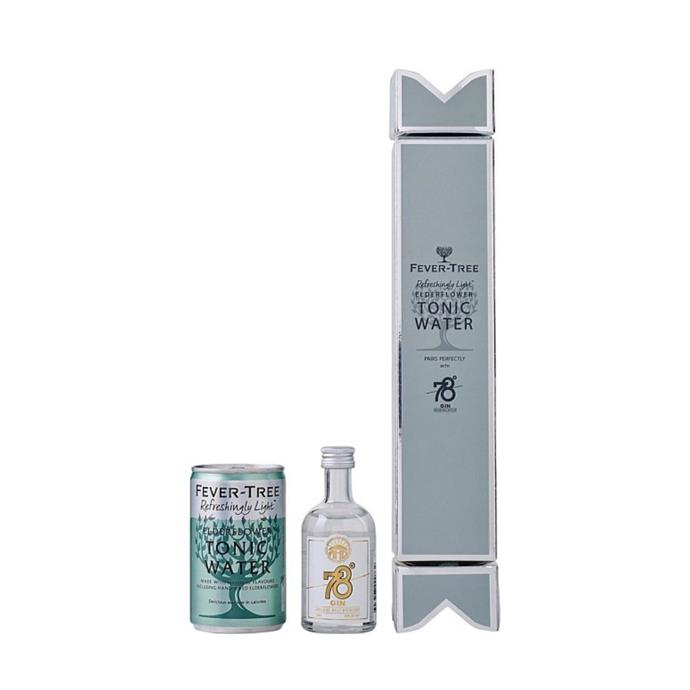 "Fever tree Xmas cracker with elderflower tonic and Adelaide Hills single gin, $16, [David Jones](https://www.davidjones.com/Product/23877607/Fever-Tree-Xmas-Cracker-Elderflower-Adelaide-Hills-Single|target=""_blank""|rel=""nofollow"")"