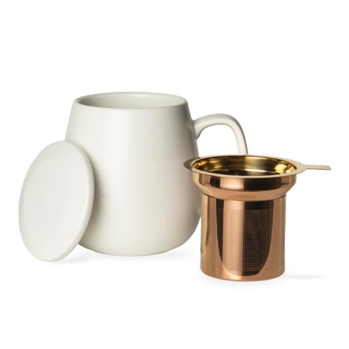 "Hugo teaset white mgug with infuser, $20, [T2](https://www.t2tea.com/en/au/teawares/tea-mugs/mugs-with-infusers/t2-teaset-hugo-white-mug-with-infuser-H200BC042.html?gclid=Cj0KCQiAwMP9BRCzARIsAPWTJ_FM6cNX8uYhiqhvKjz0dlZlUnGrAwRrP_5LCuvFheTdw4QAUeDMkI0aApgJEALw_wcB&gclsrc=aw.ds|target=""_blank""|rel=""nofollow"")"