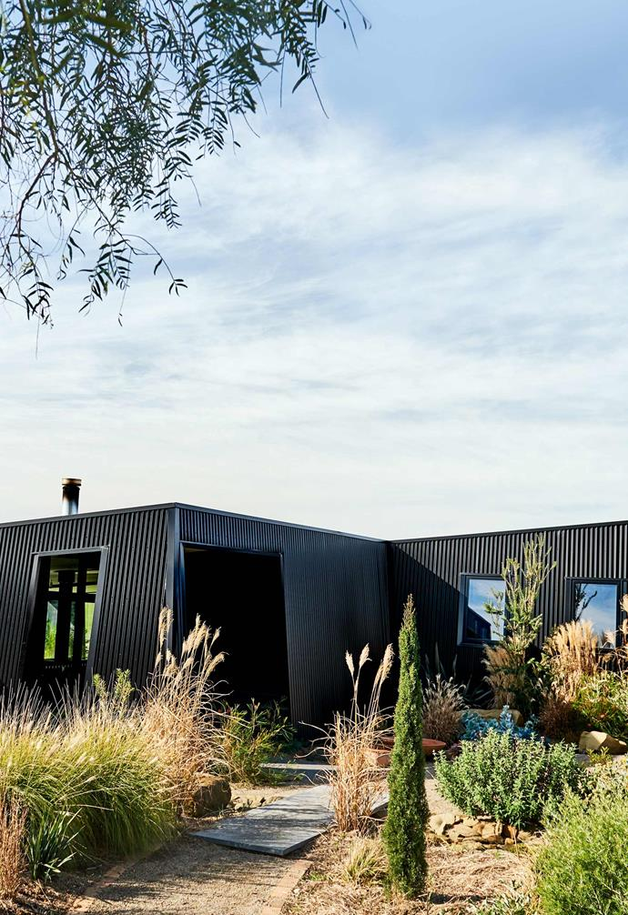 """**Exterior** Nat Anderson's family chose [Colorbond](https://colorbond.com/