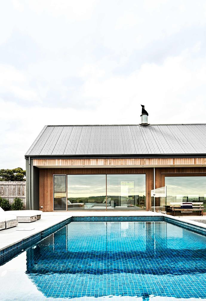 "**Pool** A stunning pool makes the most of the ample space available. Pool built by [Great Ocean Pools](http://www.greatoceanpools.com.au/www/home/|target=""_blank""