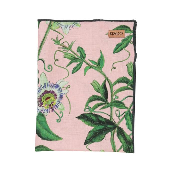 """Passion pink linen tea towel, $24, [Kip&Co](https://kipandco.com.au/collections/gifts-under-20/products/passion-pink-linen-tea-towel
