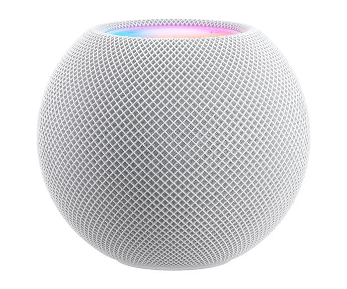 """Apple HomePod Mini, $149, [Apple](https://www.apple.com/au/homepod-mini/ target=""""_blank"""" rel=""""nofollow"""")."""
