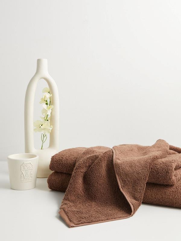 "TEKLA Organic-cotton hand towel, $37, [MatchesFashion](https://www.matchesfashion.com/au/products/Tekla-Organic-cotton-hand-towel%09-1347041|target=""_blank""|rel=""nofollow"")"