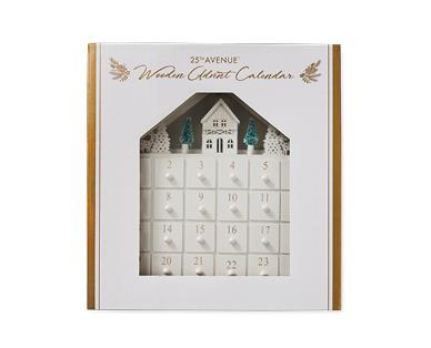 LED Wooden Advent Calendar, $19.99.