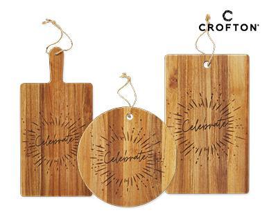 Acacia Wood Boards, $9.99.