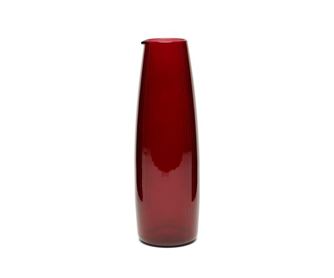 "R+D.LAB X Lee Mathews Luisa glass carafe, $211, [MatchesFashion](https://www.matchesfashion.com/au/products/R%2BD-LAB-X-Lee-Mathews-Luisa-glass-carafe-1396376 target=""_blank"" rel=""nofollow"")"