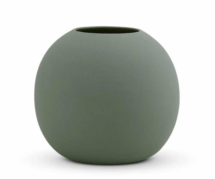 "Cloud Bubble Vase - Moss - Medium, $49, [Marmoset Found](https://marmosetfound.com.au/collections/all/products/cloud-bubble-vase-moss-m|target=""_blank""
