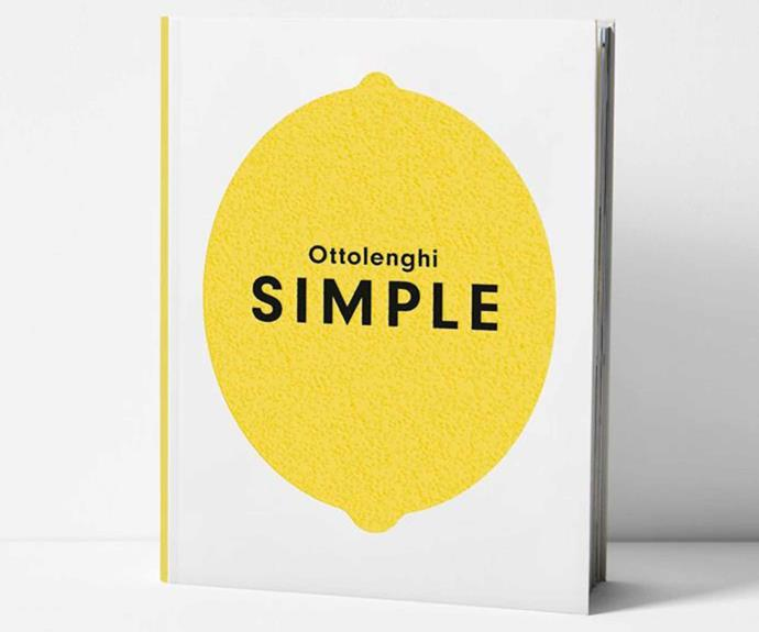 "Ottolenghi Simple by Yotam Ottolenghi, $49.95, [Aura Home](https://www.aurahome.com.au/ottolenghi-simple-by-yotam-ottolenghi|target=""_blank""