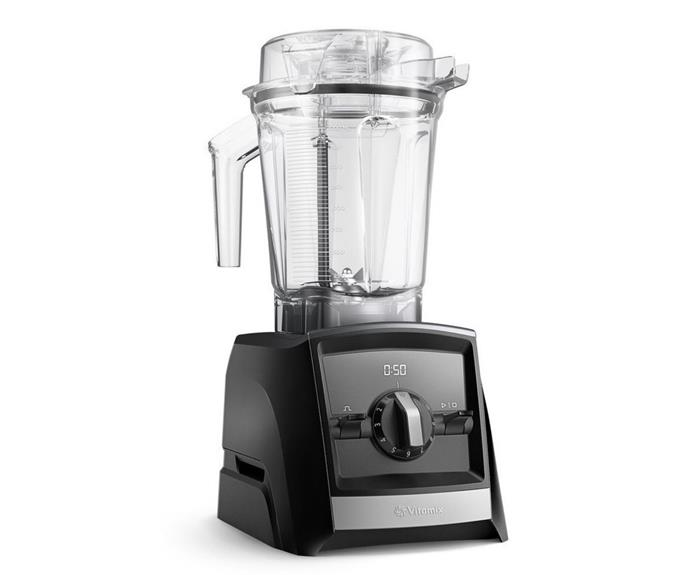 "Vitamix Ascent Series A2300i High Performance Blender in Black, $945, [Myer](https://www.myer.com.au/p/ascent-series-high-performance-blender-black-a2300i-613302670|target=""_blank""