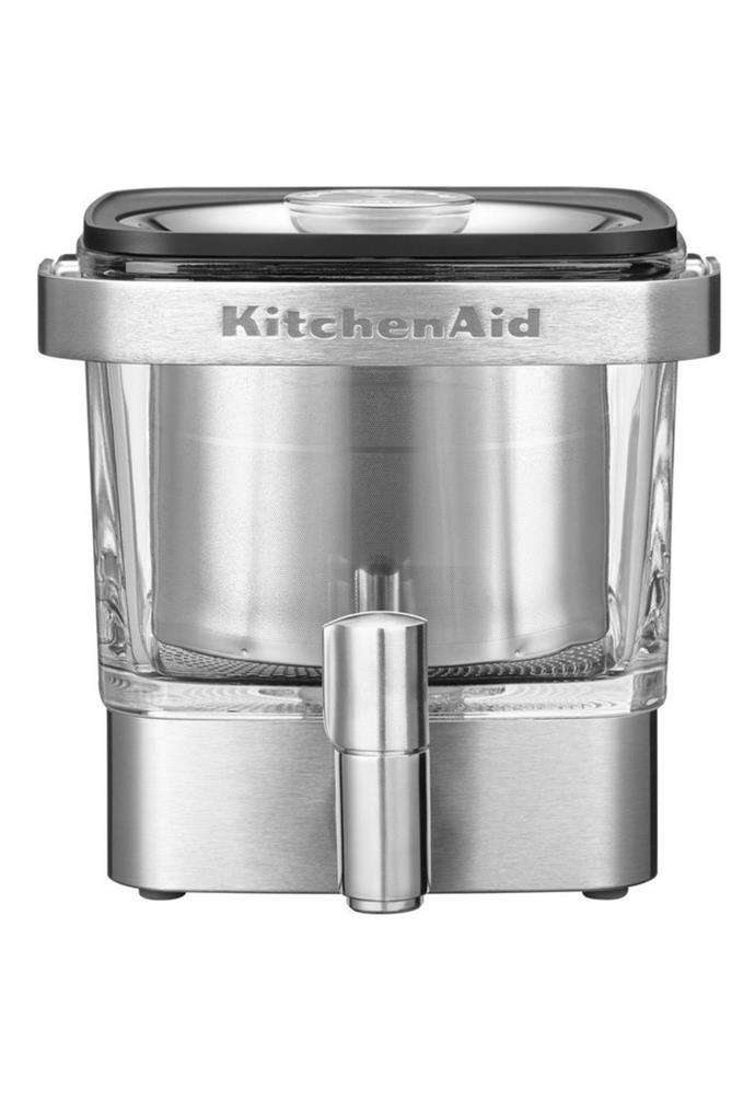 "**Cold Brew Coffee Machine Stainless Steel KCM4212SX, $59, [KitchenAid](https://www.myer.com.au/p/kitchenaid-craft-coffee-cold-brew-coffee-maker-kcm4212|target=""_blank""