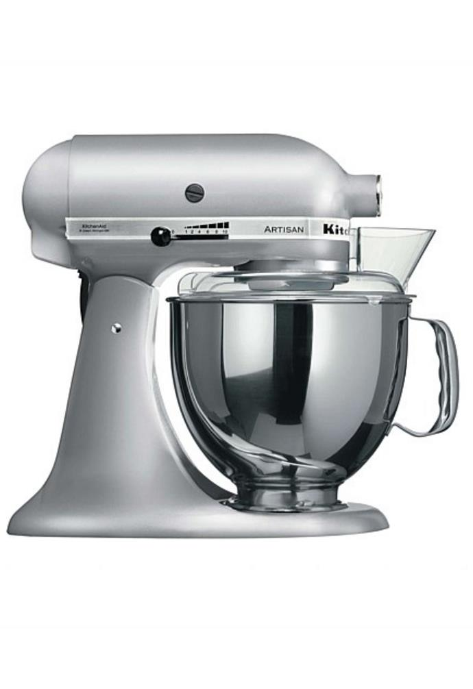 "**KSM150 Stand Mixer Contour Silver, $629, [KitchenAid](https://www.davidjones.com/electrical/small-appliances/20642948/KSM150-Stand-Mixer-Contour-Silver.html|target=""_blank""