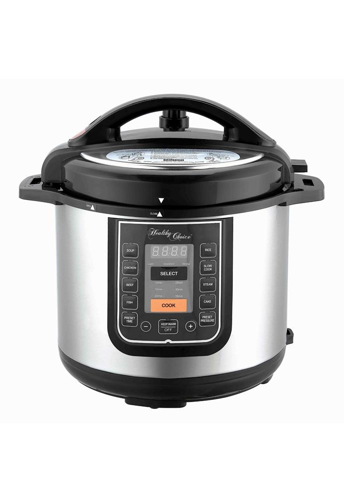 "**8L Pressure Cooker, $100.80, [Lennox](https://www.catch.com.au/event/early-bird-black-friday-special-5-million-kitchen-appliance-sale-136632/product/lenoxx-8l-pressure-cooker-4618707/?e=black-friday&st=1&sid=136632&sp=1&asp=&aqi=|target=""_blank""