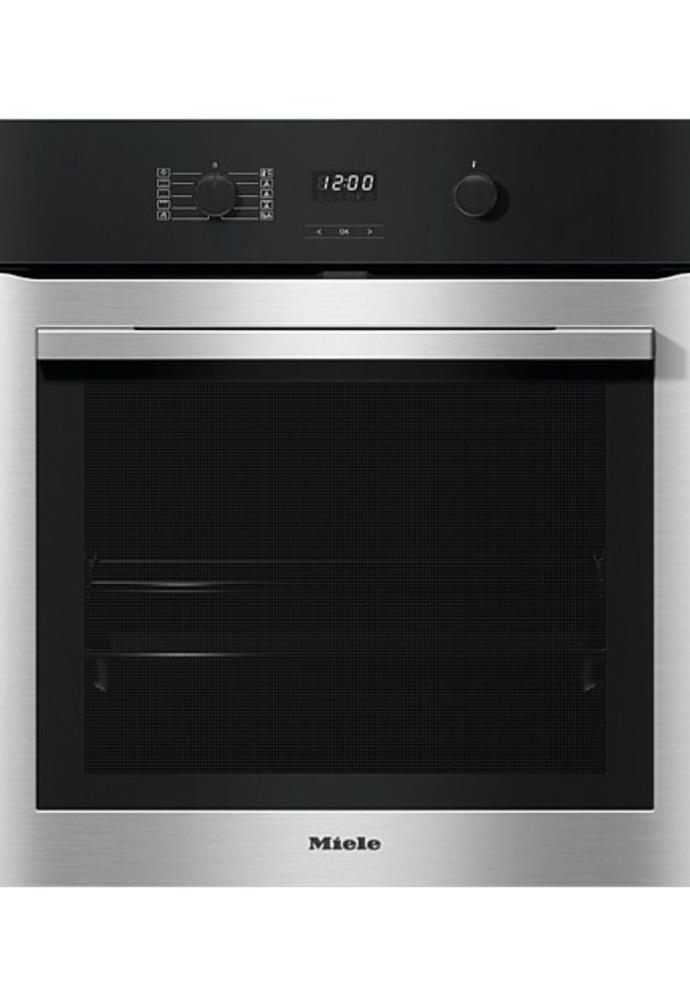 "**H 2760 BP Contourline Cleansteel Oven, $2,499, [Miele](https://www.davidjones.com/electrical/home-appliances/cookers-and-ovens/23029791/MIELE-H-2760-BP-ContourLine-CleanSteel.html|target=""_blank""