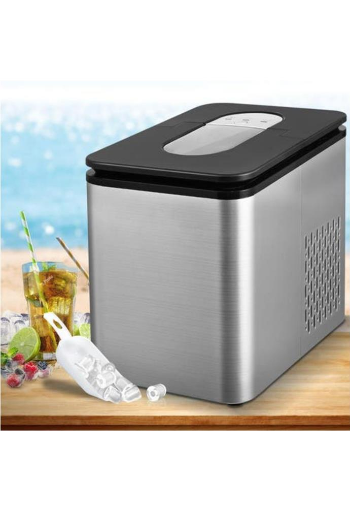 "**2.2L Ice Maker 12KG Portable Ice Makers Cube Tray Bar Home Countertop Silver, $150.95, [One Shop](https://www.kogan.com/au/buy/nai-22l-ice-maker-12kg-portable-ice-makers-cube-tray-bar-home-countertop-silver-im-d-1201-sr/|target=""_blank""