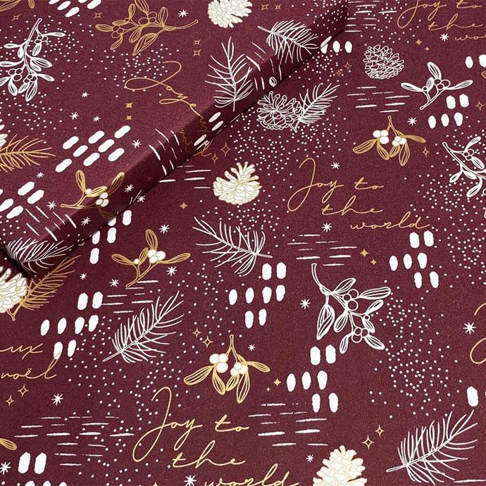 "Under the Mistletoe in Plum/Gold, $5.50, [Emballage](https://emballage.com.au/products/under-the-mistletoe?variant=32245001191507|target=""_blank""|rel=""nofollow"")"