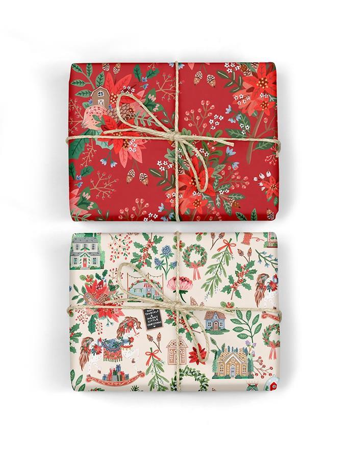 "Christmas Joy / Red Floral 6pk $26.95, [Bespoke Letterpress](https://bespokepress.com.au/collections/christmas/products/christmas-joy-red-floral-6pk|target=""_blank""|rel=""nofollow"")"