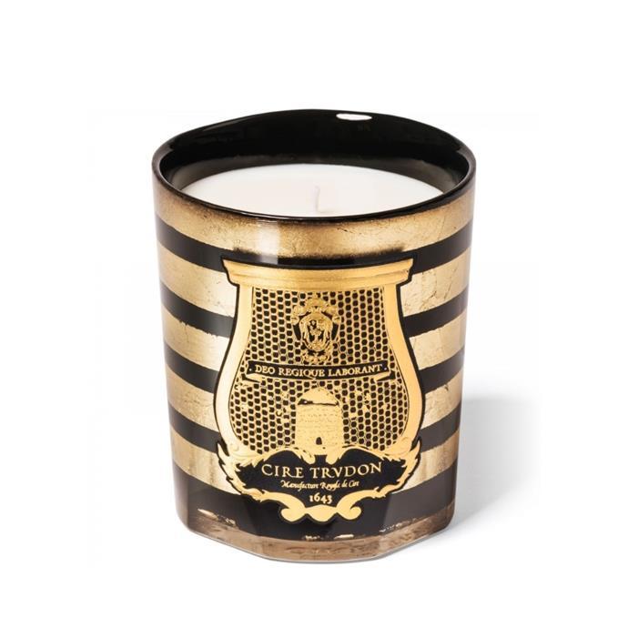 "Cire Trudon x Balmain candle, $229, [Libertine Parfumerie](https://www.libertineparfumerie.com.au/product/balmain-ernesto/|target=""_blank""|rel=""nofollow"")"