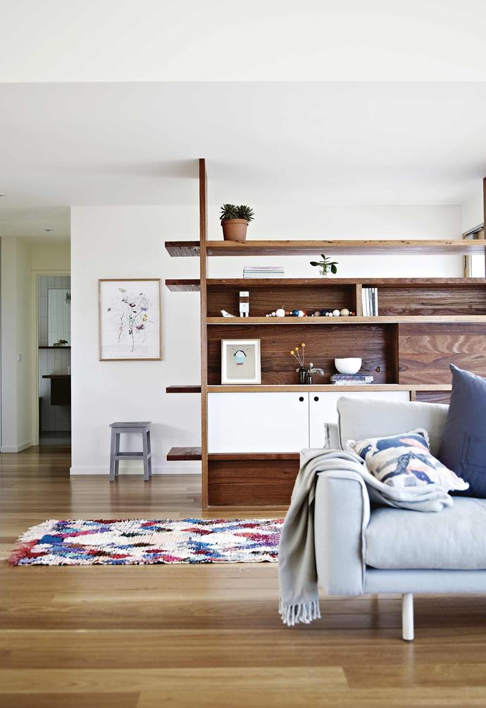"""And although they wanted a [contemporary beach house](https://www.homestolove.com.au/modern-coastal-home-interiors-21454