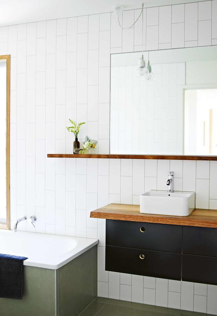 """**How conscious were your clients of environmental considerations?** <br><br>The clients loved the idea of using recycled materials where possible, so a lot of the joinery and the kitchen island is made from recycled messmate timber. Fans, instead of [air-conditioning](https://www.homestolove.com.au/best-air-conditioners-australia-18451