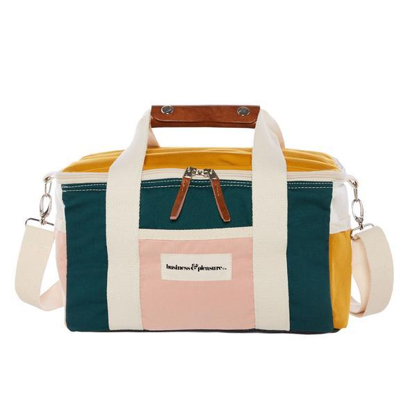 """The Premium Cooler Bag in '70s Panel Cinque', $79, [Bussiness & Pleasure Co.](https://businessandpleasureco.com.au/products/copy-of-pre-sale-the-premium-cooler-bag-70s-panel-cinque target=""""_blank"""" rel=""""nofollow"""") <br><br> Perfect for picnics, parties or a day at the beach, this stylish cooler bag is guaranteed to get plenty of use over summer."""