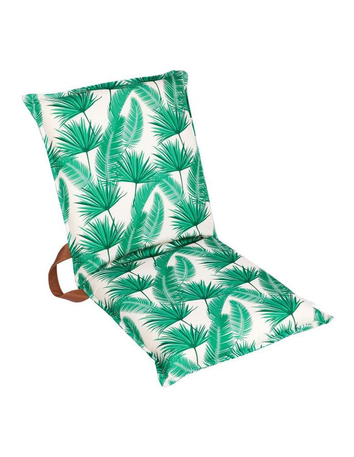 "Sunnylife Folding Seat in 'Kasbah', $79.95, [Myer](https://www.myer.com.au/p/sunnylife-folding-seat-kasbah|target=""_blank""|rel=""nofollow"")"