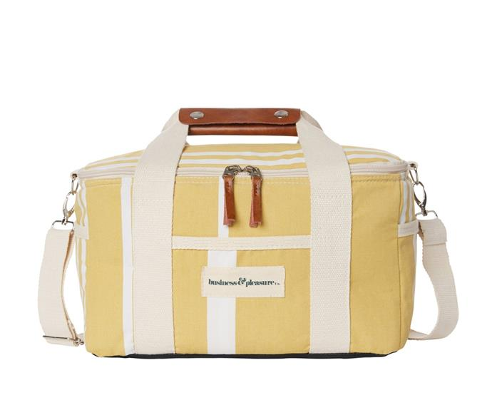 """Business & Pleasure Co. premium Cooler Bag in Vintage Yellow, $79.99, [SurfStitch](https://www.surfstitch.com/business-and-pleasure-co-premium-cooler-vintage-yellow-bpa-coo-vtg-yel.html