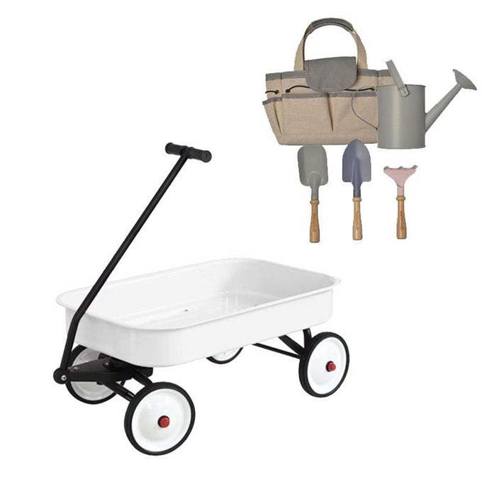 "Wagon and Tool Set bundle, $139.95, [Hip Kids](https://www.hipkids.com.au/products/wagon-bundle|target=""_blank""|rel=""nofollow"")"