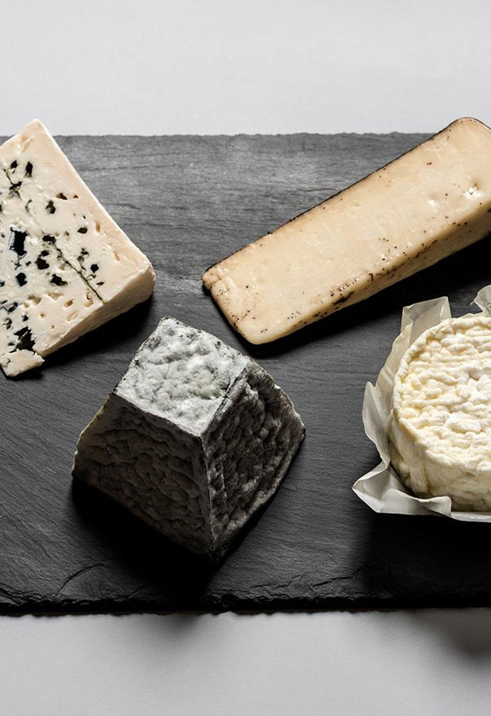 "**MILK THE COW**<br><br>When it comes to entertaining, there's no more essential snack to graze on than a platter of delicious cheese. Melbourne-based cheesemongers [Milk The Cow](https://milkthecow.com.au/collections/cheese-subscriptions-australia|target=""_blank""