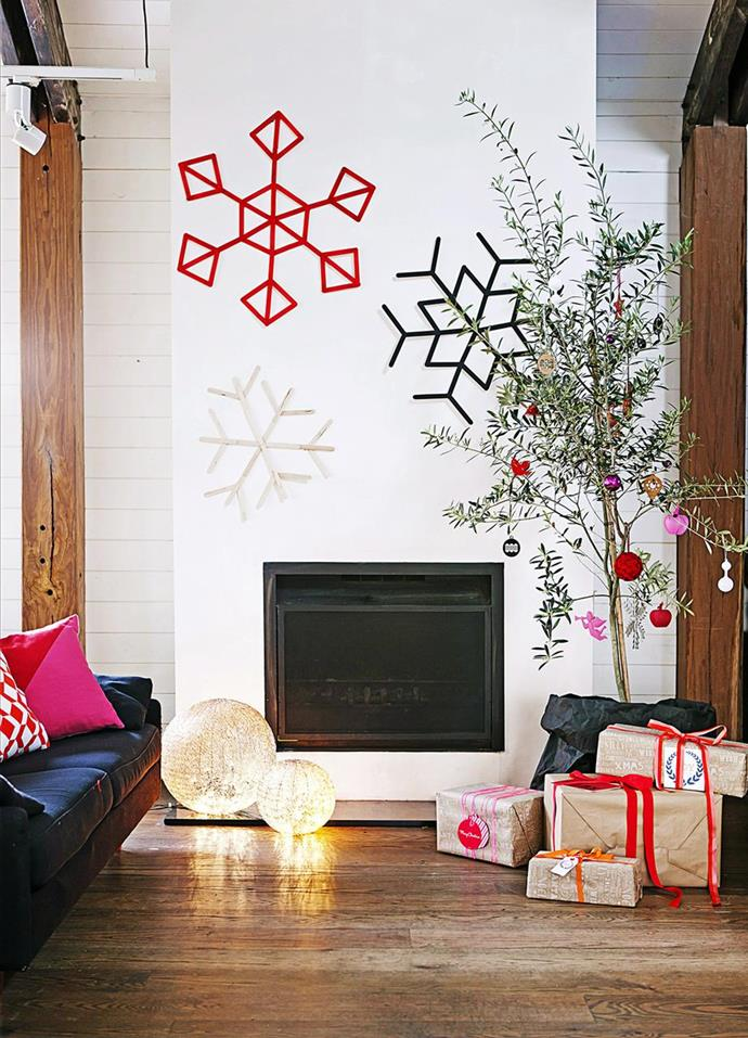 """If you can't bear the thought of cutting down a tree just to use as a decoration, why not use a live potted Christmas tree or plant.A [potted plant](https://www.homestolove.com.au/top-performing-potted-plants-for-your-garden-2183