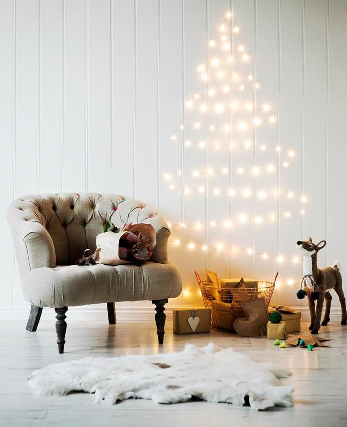 """For a truly low maintenance [simple and stylish Christmas decorations](https://www.homestolove.com.au/stylish-and-simple-christmas-decorating-ideas-2553