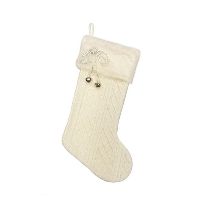 "White knit & faux fur cuff stocking, $24.95, [David Jones](https://www.davidjones.com/Product/21658712 target=""_blank"" rel=""nofollow"")"