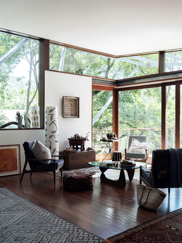 Michelle's light-filled living room.