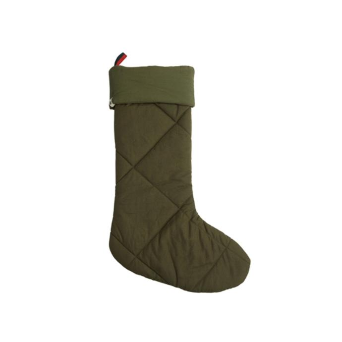 "Organic canvas Christmas stocking, $89, [Pony Rider](https://www.ponyrider.com.au/p/organic-canvas-christmas-stockings-khaki-o-s/SK28001R target=""_blank"" rel=""nofollow"")"