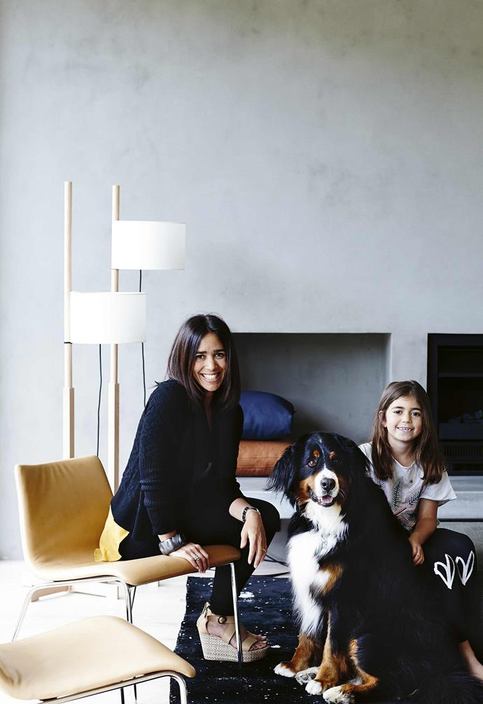 """**Romy, what was your design inspiration?** <br><br>Jamie and I grew up in a [modernist house](https://www.homestolove.com.au/modernist-style-houses-20613