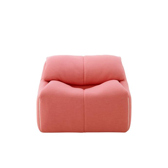 "Ligne Roset 'Plumy' armchair, from $3675, [Domo](https://www.domo.com.au/product/plumy-armchair/|target=""_blank""