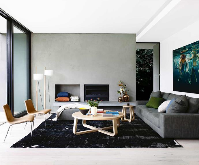 A sophisticated open-plan house in Elwood with modern style