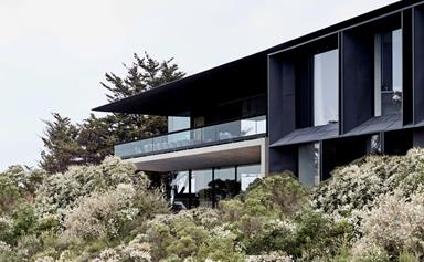 A luxurious Great Ocean Road home with a naturalistic interior