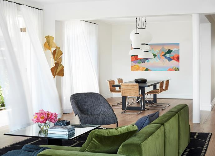 &Tradition 'Develius' modular sofa from Cult, Minotti 'Cortina' lounge chair from 
