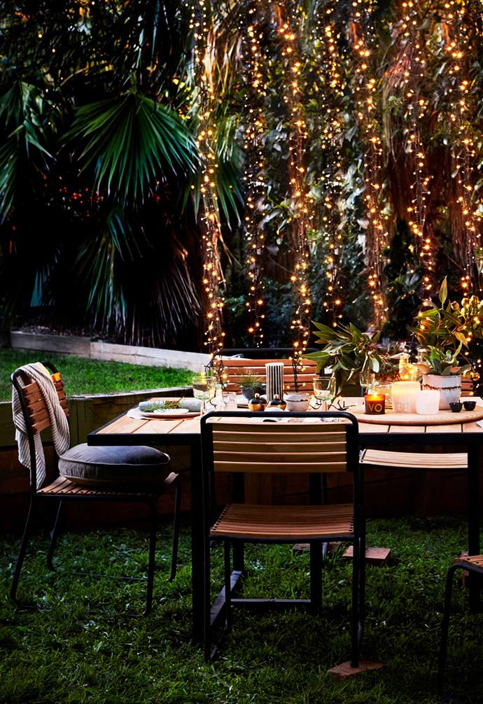 ">> [5 ways to make a magical garden with fairy lights](https://www.homestolove.com.au/using-fairy-lights-outside-5620|target=""_blank"")."