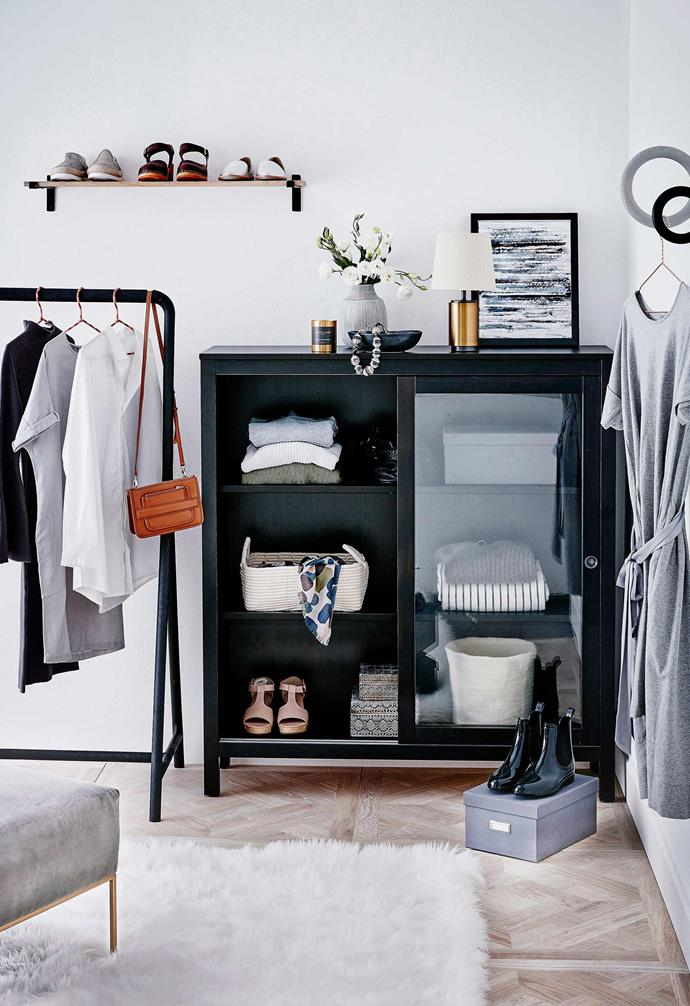 """>> [How to organise your wardrobe in 4 simple steps](https://www.homestolove.com.au/how-to-organise-your-wardrobe-in-4-simple-steps-15727