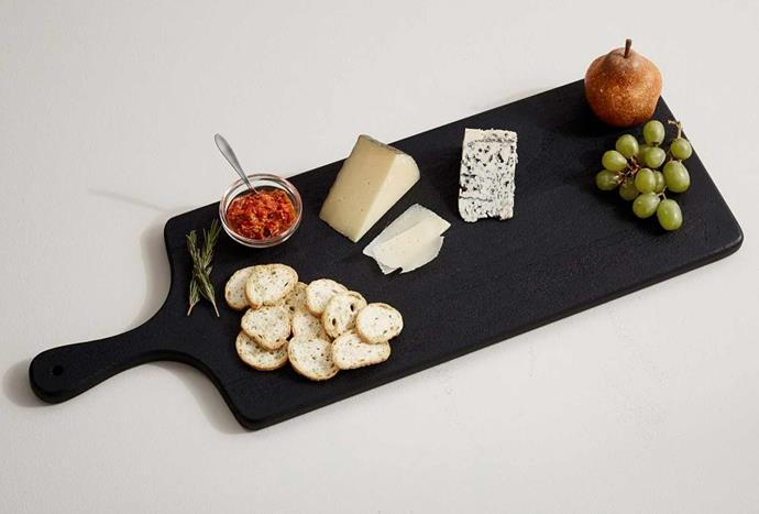 Chateau Acacia Wooden Cheese Board, $94, [Pottery Barn](https://www.potterybarn.com.au/chateau-wood-cheese-boards).