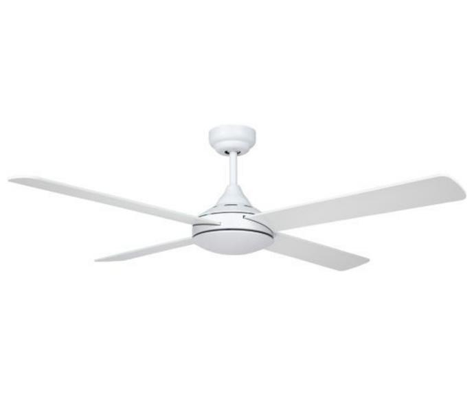 """**Fanforce Hawk 48"""" Anti-Rust Timber 4 Blades Ceiling Fan in white, $119, [JD Lighting](https://www.jdlighting.com.au/fanforce-hawk-48-anti-rust-plywood-4-blades-ceiling-fan-white.html