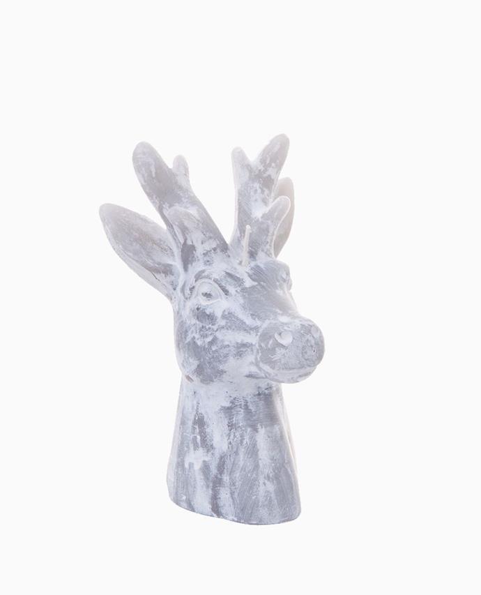 "Nutcracker Reindeer Wax Candle - Med, $24.95, [Papaya](https://www.papaya.com.au/nutcracker-reindeer-wax-candle-med|target=""_blank""|rel=""nofollow"")"