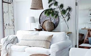 stylish and simple Christmas decorating ideas
