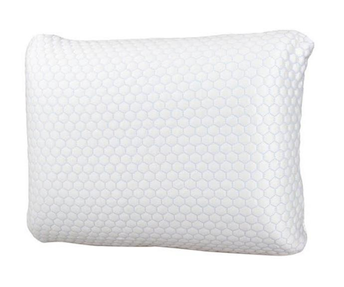 """**Ardor Standard Cooling Memory Foam Pillow, $49.99, [catch.com.au](https://www.catch.com.au/product/ardor-standard-cooling-memory-foam-pillow-6358375/