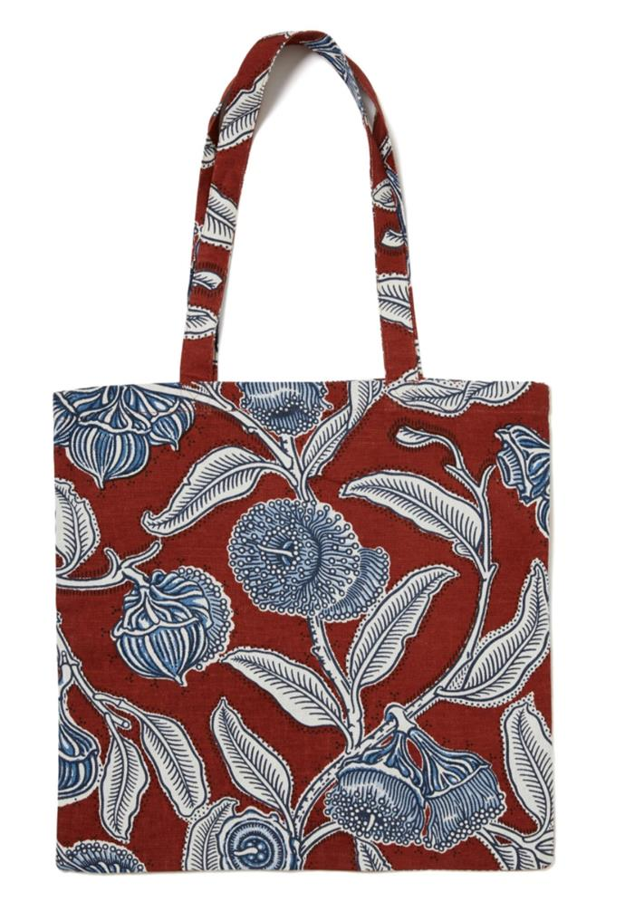 "**Youngiana Umber Tote Bag, $79, [Utopia Goods](https://utopiagoods.com/collections/bags/products/youngiana-umber-heavyweight-linen-tote-bag|target=""_blank""