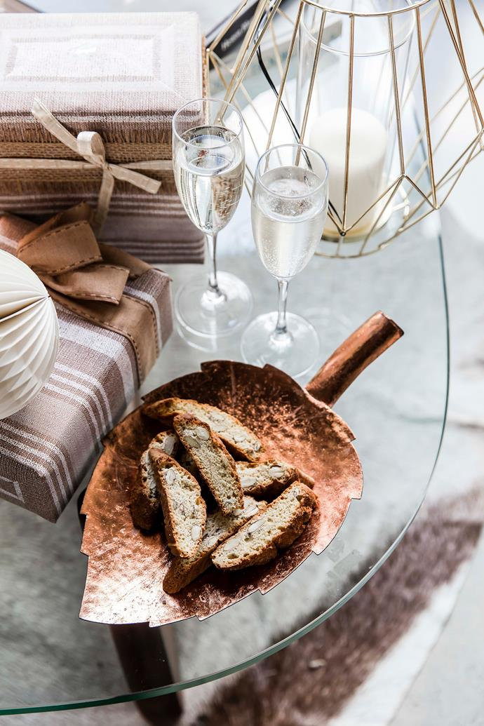"""For a festive twist, why not add some themed decor to your entertaining set-up? Here's are some of our favourite [Christmas entertaining ideas](https://www.homestolove.com.au/christmas-entertaining-ideas-19479